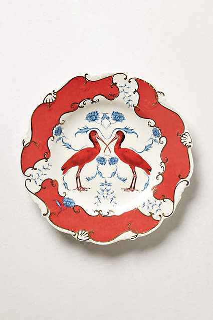 Anthropologie's Nature Table Dessert Plate... perfect for eating cake off.