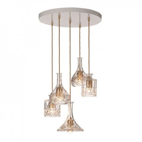 The Decanterlight Chandelier by Lee Broom £1,250 www.heals.com