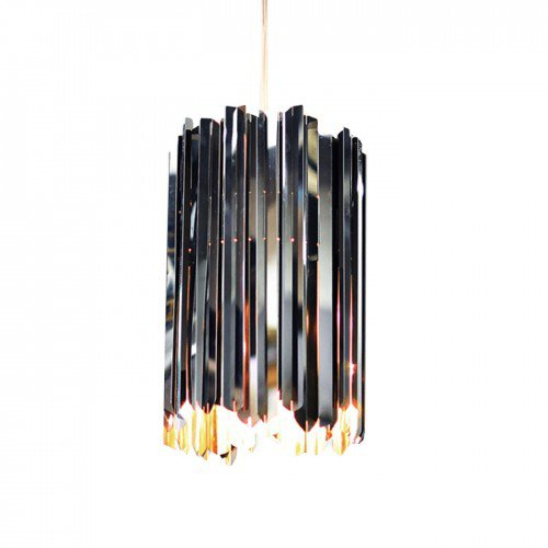 Facet 18 Mini Pendant Stainless Steel by Innermost £557 www.heals.com