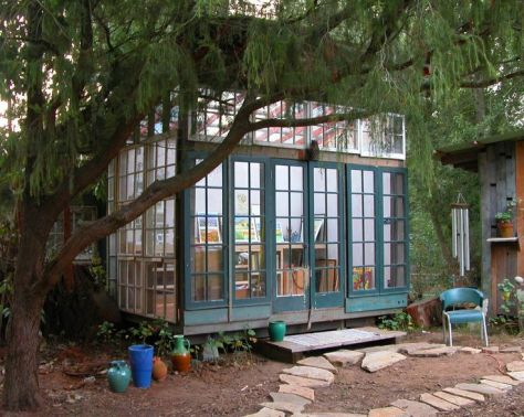 If budget allows create a room in your garden to hide away in. Always good for the soul! (pinterest)