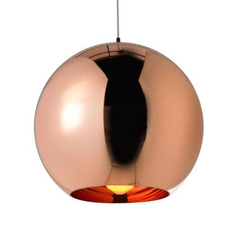 Copper Round Pendant by Tom Dixon. £255.00 www.heals.com