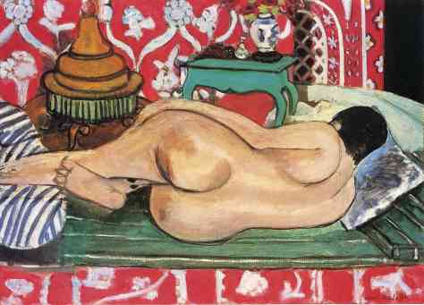 Matisse's 'Reclining Nude Back'.