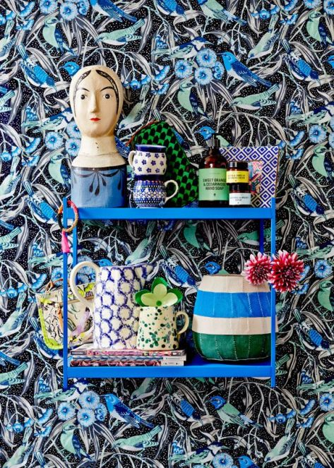 Collections can be totally random. They still hang together beautifully. Photo - Sean Fennessy, styling - Lucy Feagins (thedesignfiles.net)