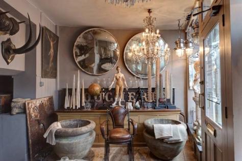 A cabinet of curiosities from Alex Macarthur Interiors. (www.alexmacarthur.co.uk)