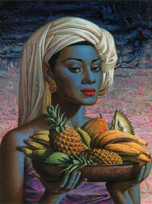 Vladimir Tretchikoff artwork. (www.vladimirtretchikoff.com/gallery.htm)