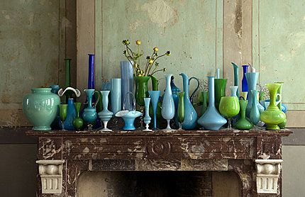 One can never have too much glassware! Brabourne Farm (brabournefarm.blogspot.com)