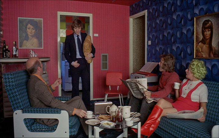 A Clockwork Orange film set. (pinterest)