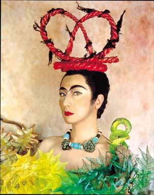 Homage to Frida.