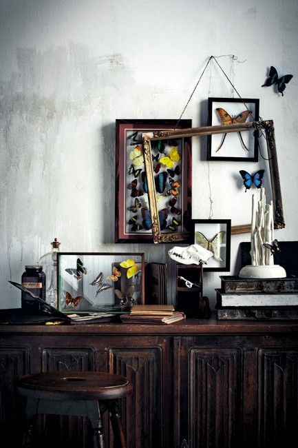 Transform your home into a treasure chest. (pinterest)