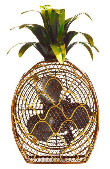 DecoBREEZE Pineapple Figurine Fan. (m.shop.nordstrom.com)