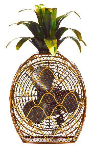 DecoBREEZE Pineapple Figurine Fan. (m.shop.nordstrom.com)