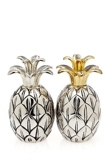 Possibly my favourite interpretation! Salt & Pepper Shakers by Godinger on @HauteLook. (hautelook.com)