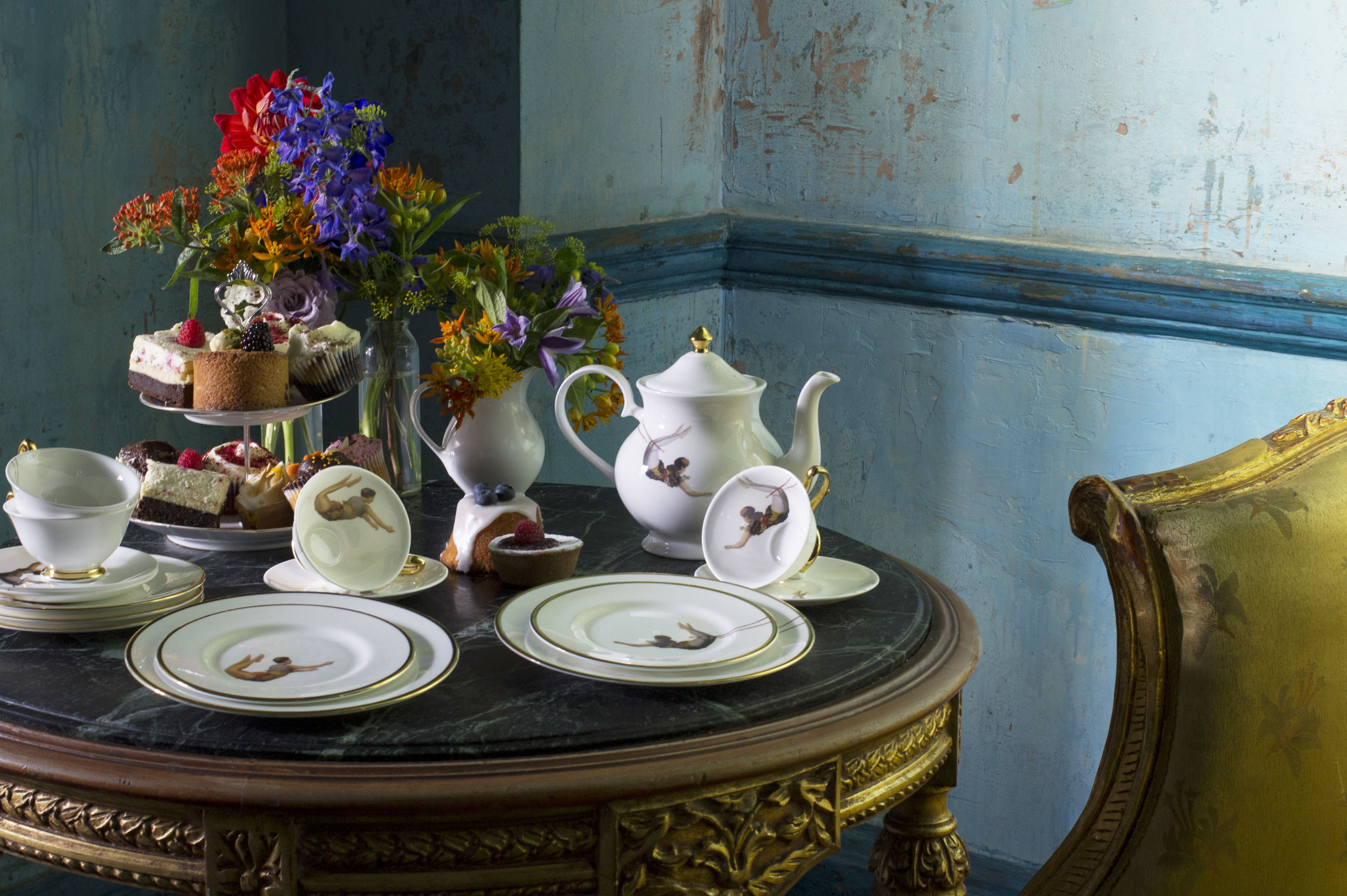 """The Melody Rose brand is known for high quality, contemporary bone china tableware with an elegant twist."" (www.melodyrose.co.uk)"