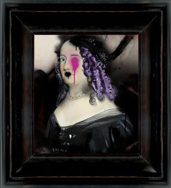 'Rinse' artwork from Abigail Ahern. (http://abigailahern.com)