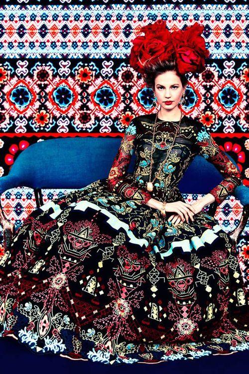Influence on fashion. (pinterest)