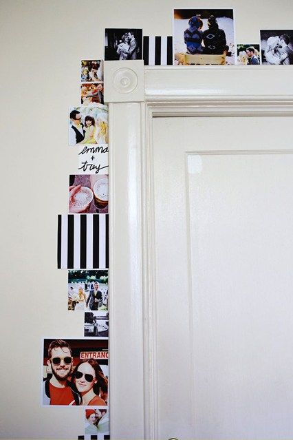 Gallery door. (pinterest)