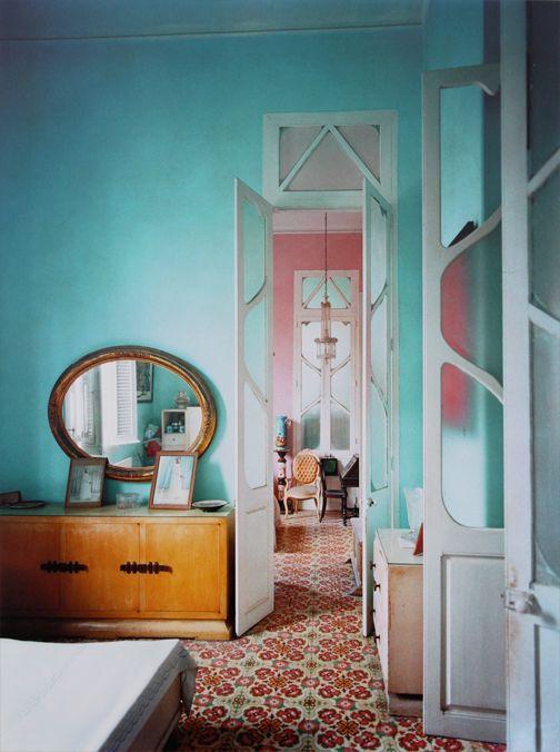 Havana doors. (pinterest)