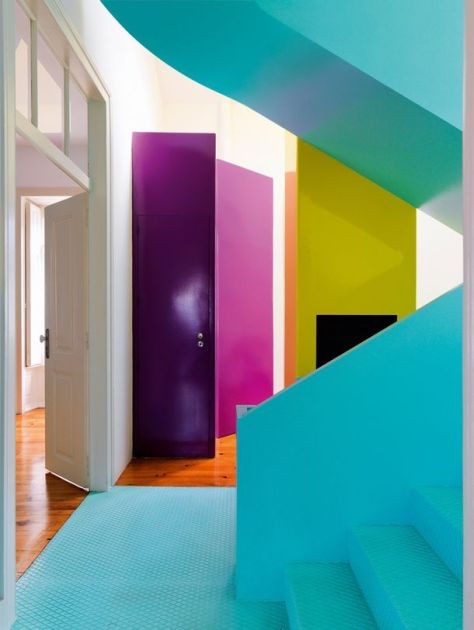 Colour heaven. (pinterest)