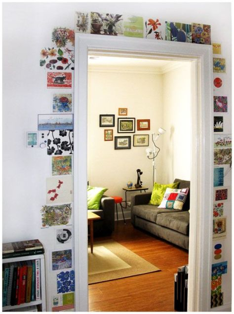 Gallery door 2. (pinterest)